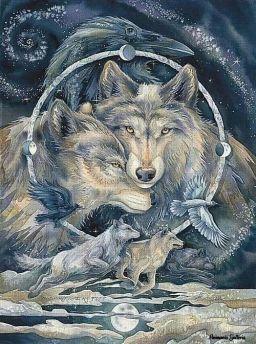lupi corvi totem
