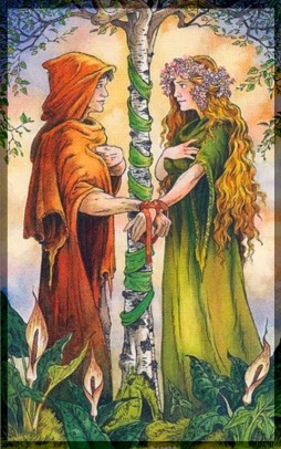 The Lovers Wildwood Tarot