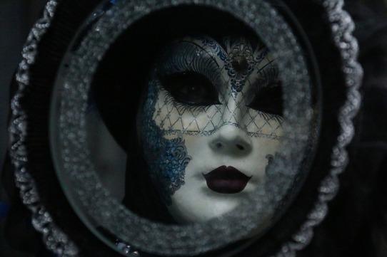 specchio maschera