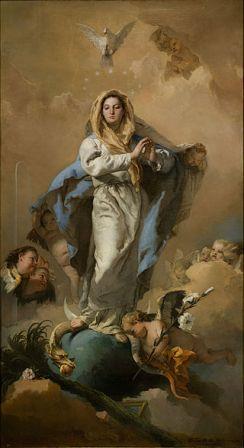 Immacolata Concezione, Giambattista Tiepolo.